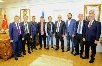 Trabzon Gazeteciler Cemiyeti'nden KTÜ'ye ziyaret