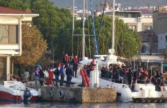 139 kaçak göçmen böyle yakalandı!
