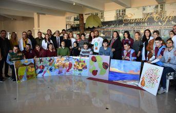 Öğretmen adayları otizmli öğrencilerle aynı projede buluştu