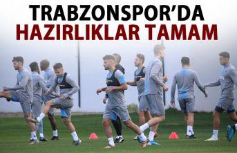 Trabzonspor, Ankaragücü maçı hazırlıklarını...