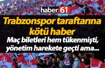 Trabzonspor'un kontenjan arttırma talebine ret...