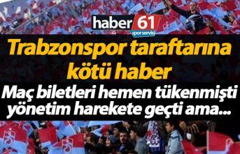 Trabzonspor'un kontenjan arttırma talebine ret geldi!