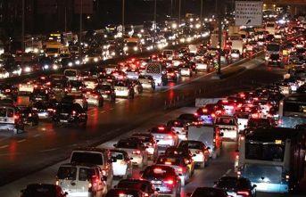 Trafik yoğunluğu! Yüzde 76'ya ulaştı