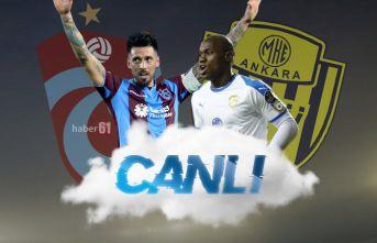 Ankaragücü Trabzonspor | CANLI