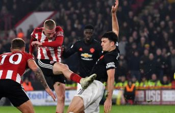 Manchester United, Sheffield maçında gol düellosu