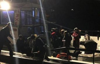93 düzensiz göçmen yakalandı!