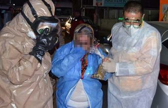 Aksaray'da 'kimyasal toz' paniği!
