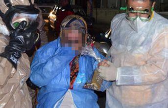 Zarfın içinden çıkan kimyasal tozdan etkilendiler! Karantinaya alındılar!