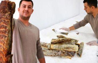 Türkiye'de ilk kez üretilen balık pastırmasına talep yağıyor