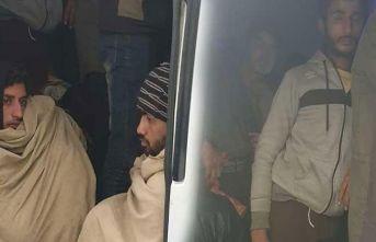 Ankara'da 37 kaçak göçmen yakalandı