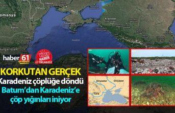 Korkutan gerçek - Karadeniz çöplüğe döndü