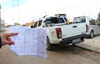 Trabzon'dan aldığı kamyonet ile hiç gitmediği İstanbul'da ceza yedi