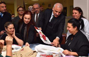 """Zorluoğlu: """"Hanımlar üretime daha fazla katılmalı"""""""