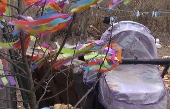 Kedi 9 aylık bebeği boğarak öldürdü