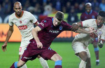Trabzonspor derbilerde topu tutamadı
