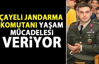 Jandarma Komutanı yaşam mücadelesi veriyor