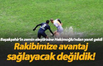 Hekimoğlu Trabzon'dan saha eleştirilerine açıklama