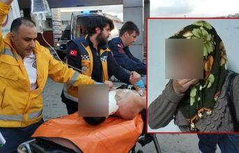 Samsun'da şok eden olay! Annesi son anda ölümden kurtardı!