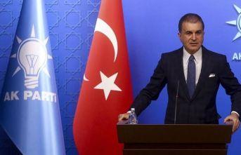 """AK Parti Sözcüsü Çelik: """"Atatürk'e dönük çirkin yayını en şiddetli şekilde kınıyoruz"""""""