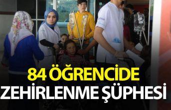 Giresun'da 84 öğrencide zehirlenme şüphesi