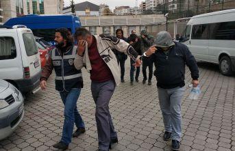 Hırsızlık çetesinden 4 tutuklama