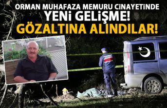 Orman Muhafaza bekçisi öldürülmüştü! 3 kişi yakalandı!