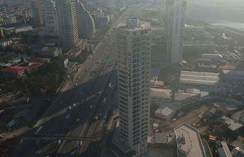 26 katlı binada yangın!