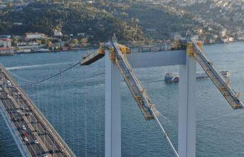 """Köprüde """"24 saat"""" bakım ve kontroller yapılıyor"""