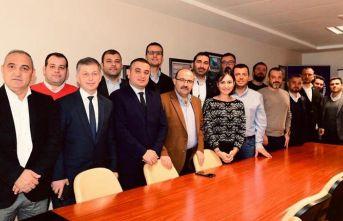 Trabzon Valisi İsmail Ustaoğlu Trabzon SİAD'da
