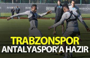 Trabzonspor Antalyaspor'a hazır