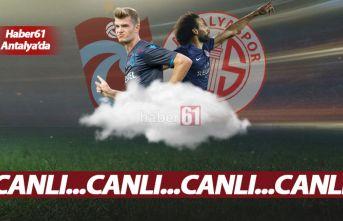 Antalyaspor Trabzonspor | Canlı