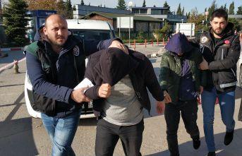 Bonzai ile yakalanan 5 kişi gözaltında