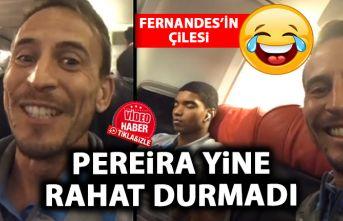 TRabzonsporlu Pereira yine rahat durmadı! Fernandes'in...