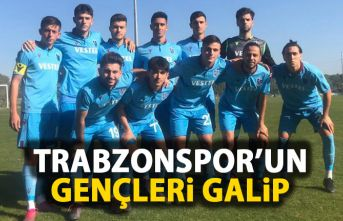 Trabzonspor'un gençleri galip