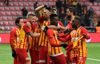Kayserispor Rizespor'u yendi