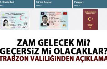 Kimlik Kartı, Pasaport ve Sürücü Belgeleri 2020...