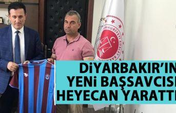 Trabzonlu Başsavcı Diyarbakır'da heyecan yarattı