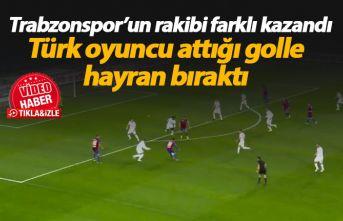 Trabzonspor'un rakibi farklı kazandı, Eray...