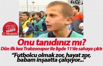 Trabzonsporlu Serkan Asan'ın yıllar önceki...