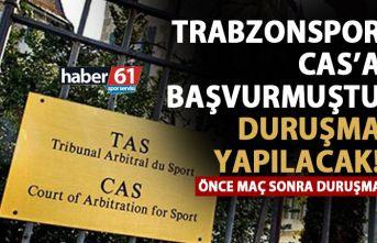 Trabzonspor CAS duruşması için gitti