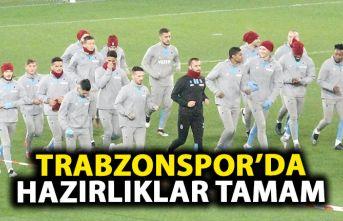 Trabzonspor'da Basel hazırlıkları tamamlandı