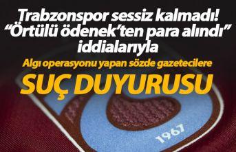 """Trabzonspor'dan """"Örtülü ödenek""""..."""