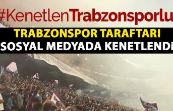 Trabzonspor taraftarı sosyal medyada kenetlendi