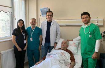 Trabzon'da şaşırtan ameliyat! Tam 130 gramlık...