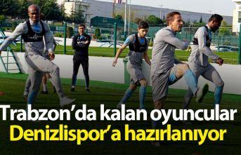Trabzon'da kalan oyuncular Denizlispor'a...