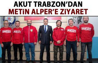 AKUT'tan Trabzon Emniyet Müdürü'ne ziyaret