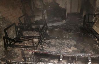Ankara'da bir ev kül oldu: 1'i ağır, 3 yaralı