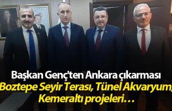Başkan Genç'ten Ankara çıkarması - O projeler...