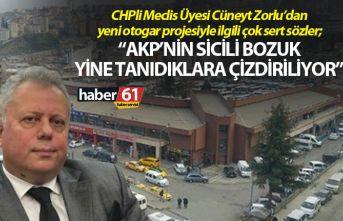 CHPli Meclis Üyesi Cüneyt Zorlu'dan Trabzon'un...