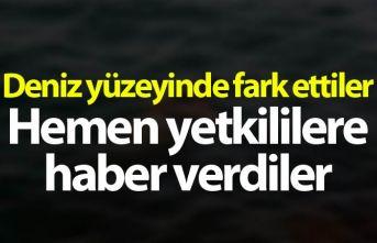 Giresun'da denizde ceset bulundu